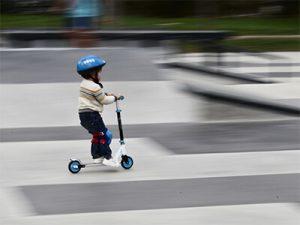 Kids-kick-scooteer