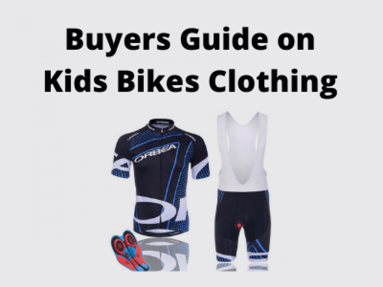 Buyers Guide on Kids Bikes Clothing